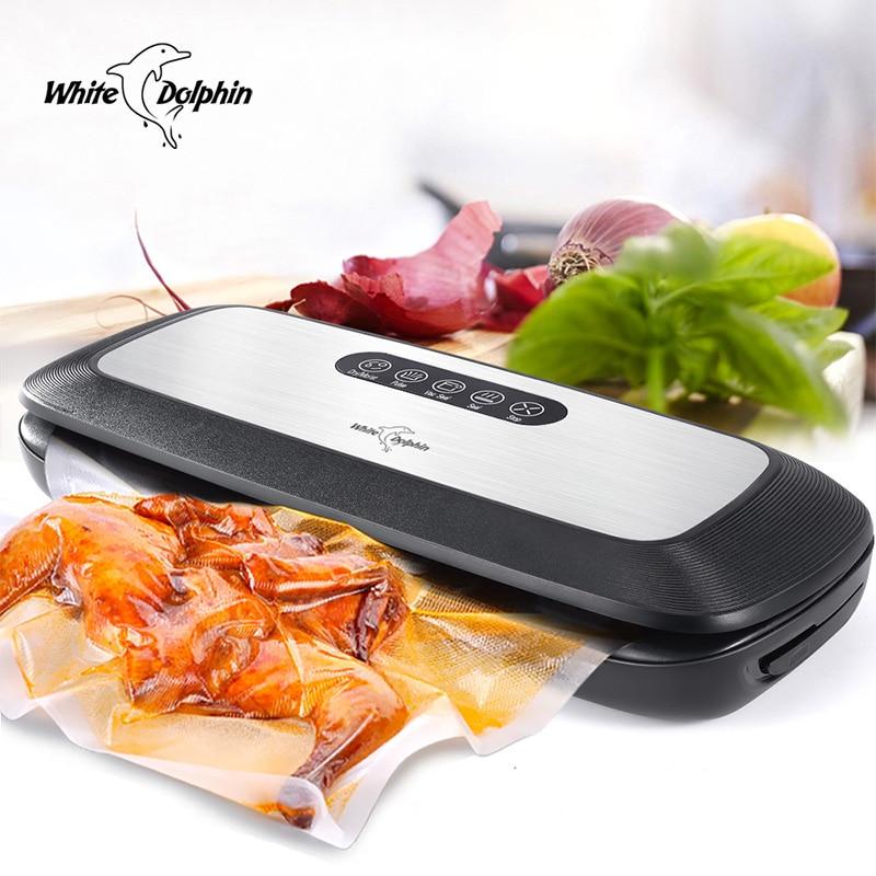 Household Food Vacuum Sealer Packaging Machine With 10pcs Bags Free 220V 110V Vacuum Sealer Machine Vacuum Sealer Food Saver