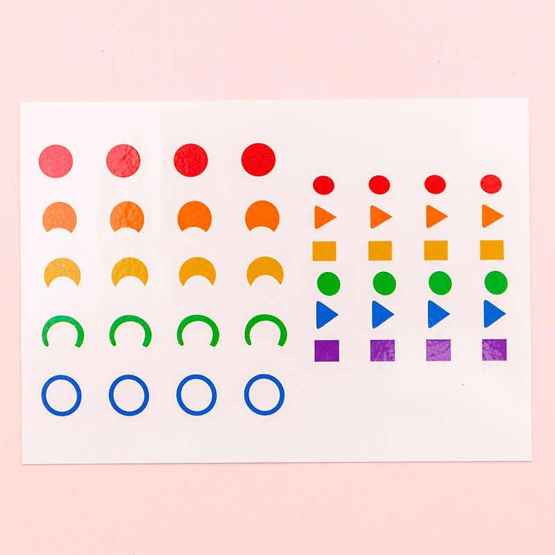 1PC Tahan Air Segar Gunting Tato Sementara Stiker Sederhana Gaya Retro Yang Indah Pemotong Kertas Palsu Tato Stiker