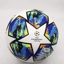 Bola de treinamento mais novo futbol material do plutônio padrão esportes tamanho liga futebol alta qualidade 5 futebol bolas futebol jogo