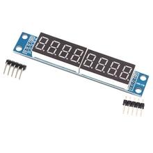 Display-Control-Module Driver Digital-Tube Dot Matrix MAX7219 7-Segment 8-Bit LED Serial