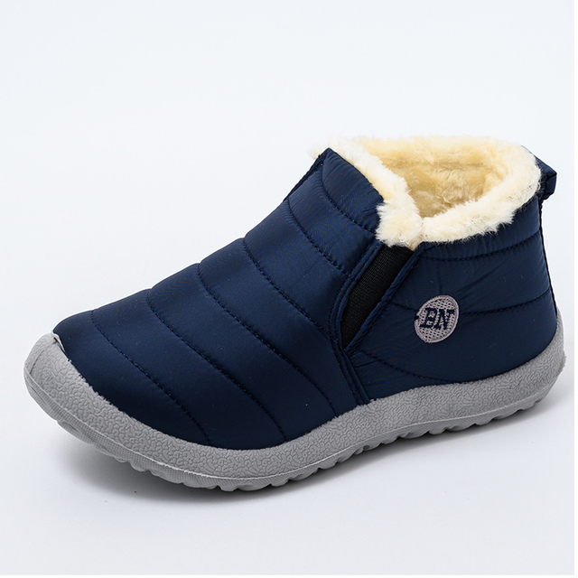 Women Boots Lightweight Winter Shoes Women Ankle Botas Mujer Waterpoor Snow Boots Female Slip On Casual Shoes Plush Footwear 2