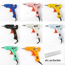 US/EU Plug 20W Hot Melt Glue Gun DIY Mini  Stick Electric Silicone Guns Rapid Repair 7 mm Heat Tools