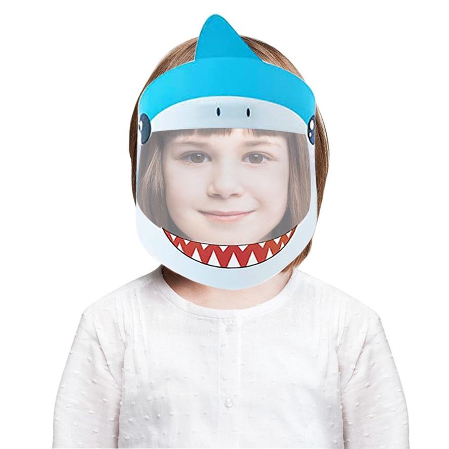 2020 защитные щитки для детей, милые многоразовые защитные щитки для лица для детей, удобные, прочные и легкие