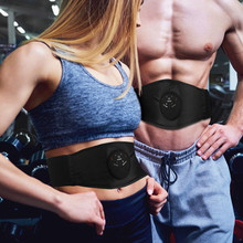 Eletric Muscle Stimulator Cellulite Massager Ems Muscle Stimulation Losing Weight Body Massagers Belly Slimming Belt Fat Burning