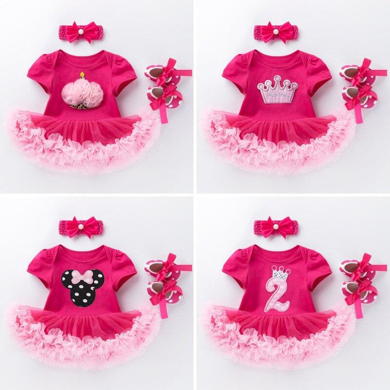 Новые летние колготки для маленьких детей, от 0 до 24 месяцев, для девочек; Платье с коротким рукавом и принтом в виде героев мультиков для роз...