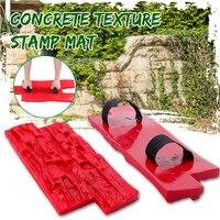 Moldes de poliuretano para hormigón, 40x20cm, textura decorativa para jardín, pared, suelos, cemento, yeso, sellos, moldes con modelos