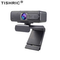 ASHU-cámara Web H701 HD, 1080p, autoenfoque, con micrófono, para transmisión en vivo de llamadas en vídeo de Pc