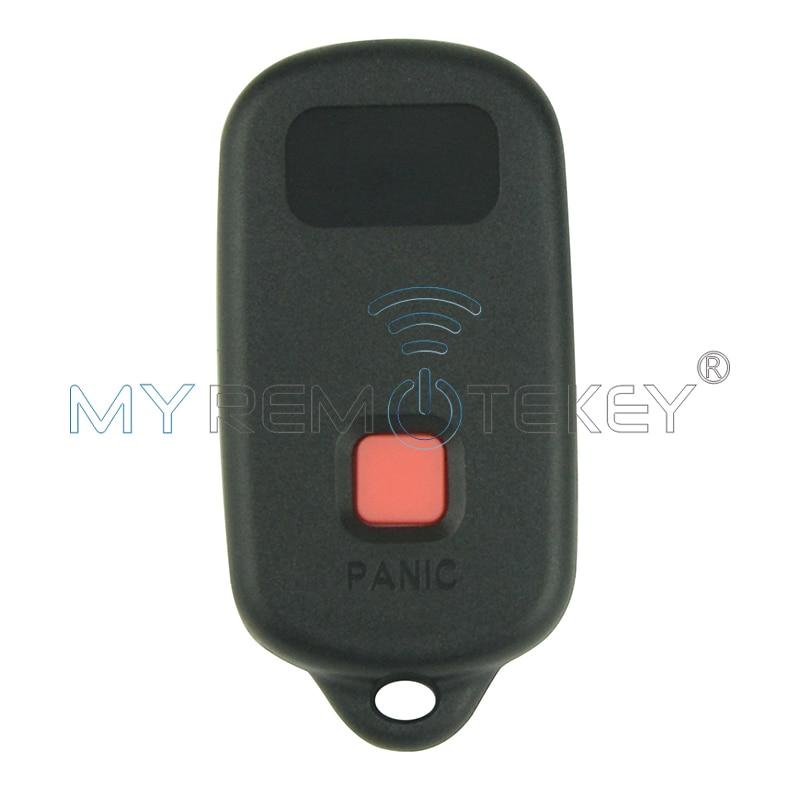 Remote car key fob 4 button for Toyota Camry Solara Corolla Matrix - Auto Replacement Parts - Photo 3