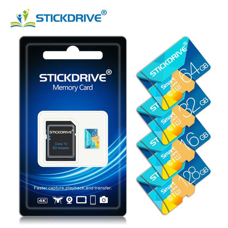 Originele Echte Capaciteit Micro Sd 128 Gb 64G 32G 16G Micro Sd-kaart Sd/Tf Flash geheugenkaart Microsd Voor Telefoon