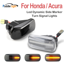 2pcs Led Dynamic Side Marker Turn Signal Light For Acura Integra Type-R DC2 RSX DC5 NSX NA1 NA2 Repeater Signal Lights For Honda swivel neck thermostat cooling component housing radiator hose for acura honda civic k20 k24 k swap