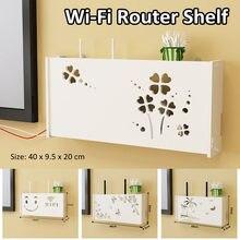 Boîte de rangement de routeur de Wifi sans fil, étagère de planche de mousse de PVC, support de planche de prise murale, organisateur de rangement de câbles, décoration de maison
