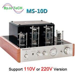 Image 1 - Nobsound MS 10D tubo amplificador de potência áudio 25 w * 2 amplificadores de vácuo suporte 110 v ou 220 v amplificador de alta fidelidade ms 10d