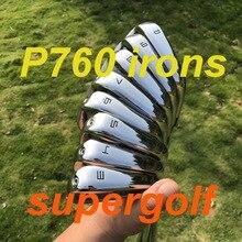2019 Mới Golf Sắt Akia P760 Bàn Ủi (3 4 5 6 7 8 9 P) với KBS Tour 90 Cứng Trục Thép 8 Chiếc Gậy Golf