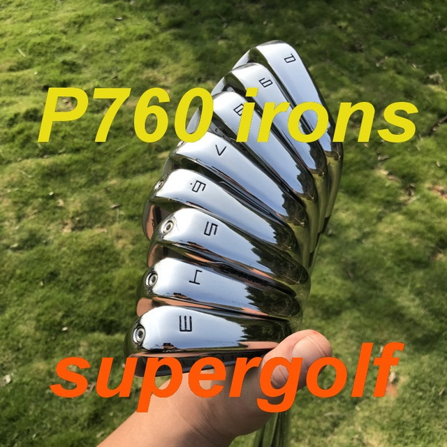 2019 New golf irons AKIA P760 irons ( 3 4 5 6 7 8 9 P ) with KBS Tour 90 stiff steel shaft 8pcs golf clubs