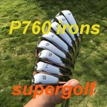 2019 חדש גולף מגהצים אקיה P760 מגהצים (3 4 5 6 7 8 9 P) עם KBS Tour 90 נוקשה פלדה פיר 8pcs מועדוני גולף