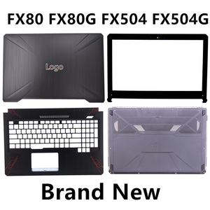 Image 1 - แล็ปท็อปใหม่สำหรับ ASUS FX80 FX80G FX504 FX504G ฝาครอบด้านบน/LCD BEZEL/Palmrest/ด้านล่างฝาครอบฐานกรณี