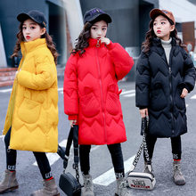 Get more info on the Jacket for Girls 2019 New Kids Winter Cotton Clothes Outerwear Coat Children Parkas Teenage Outerwear Long Warm Snowsuit Clothes