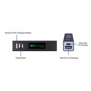 Image 3 - Telecamera endoscopio WIFI HD 1200P 10/5/3/2/1M Mini cavo rigido impermeabile Wireless 8mm 8 LED telecamera boroscopio per Android IOS Mac W