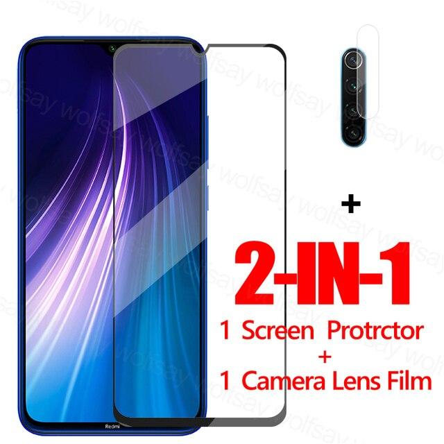 Glas Voor Xiaomi Redmi Note 8 2021 Screen Protector Gehard Glas Voor Redmi Note 8 2021 Beschermende Film Voor Redmi note 8 2021
