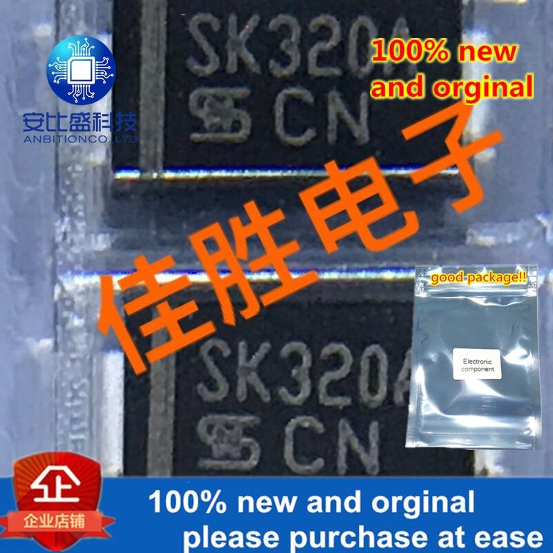 30pcs 100% New And Orginal 3A200v Schottky Diode DO214AC Silk-screen SK320A  In Stock