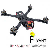 FPV rahmen drone carbon faser racer kit für RC drone modell racing quadcopter/PHISITAL Flyant X4/X5/ x6/X7 200/230/260/300mm
