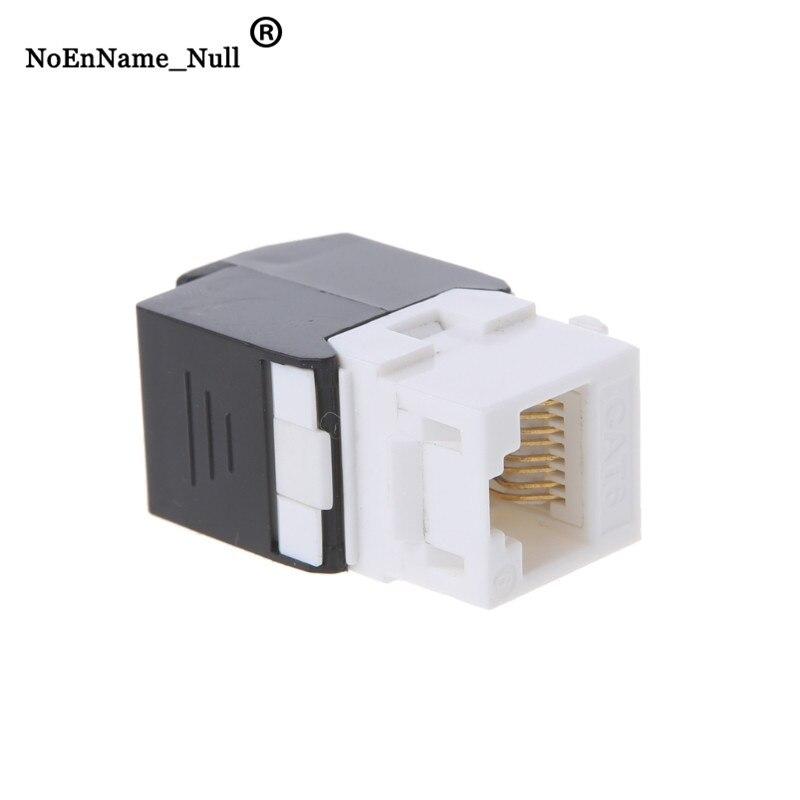 Gigabit 10pcs RJ45 CAT6 Keystone Jacks Modules Tool-free Connection Cable adapte