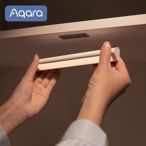 Image 3 - Aqara التعريفي LED ضوء الليل التثبيت المغناطيسي مع جسم الإنسان ضوء الاستشعار 2 مستوى السطوع 3200K درجة حرارة اللون