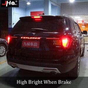 Image 4 - JHO bande de clignotants pour hayon arrière lumière LED bars, feux de freins, accessoires de voiture, pour Ford Explorer 2016 2017 2018 2019