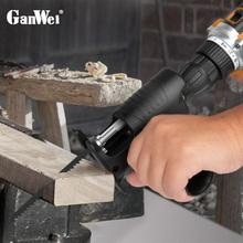 GanWei Portable Reciprocating Saw Adapter Conversion Head Of Screwdriver Electric Drill To Electric Saw Reciprocating Saw
