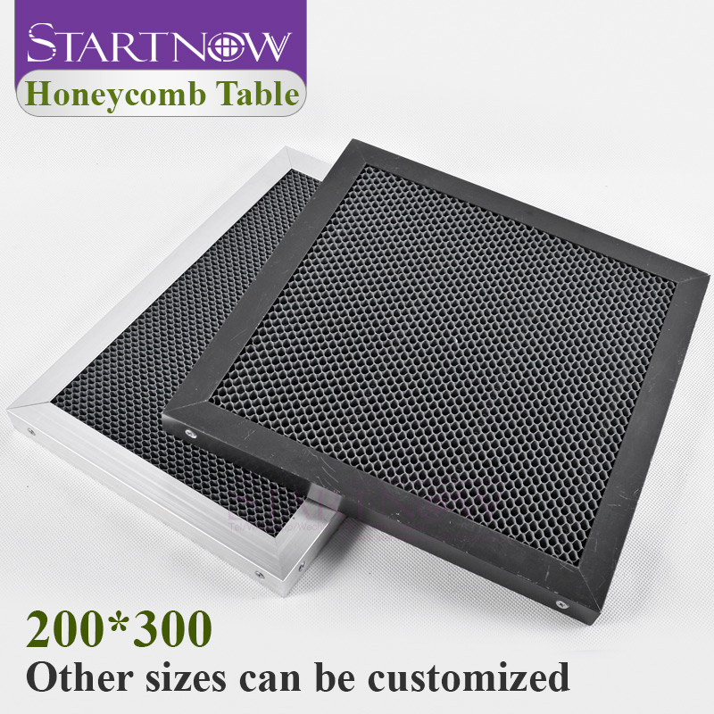 Size Customized Laser Honeycomb Working Table Panel Board Platform 300 * 200 Mm CO2 Engraver Cutting Machine Enquipment Parts
