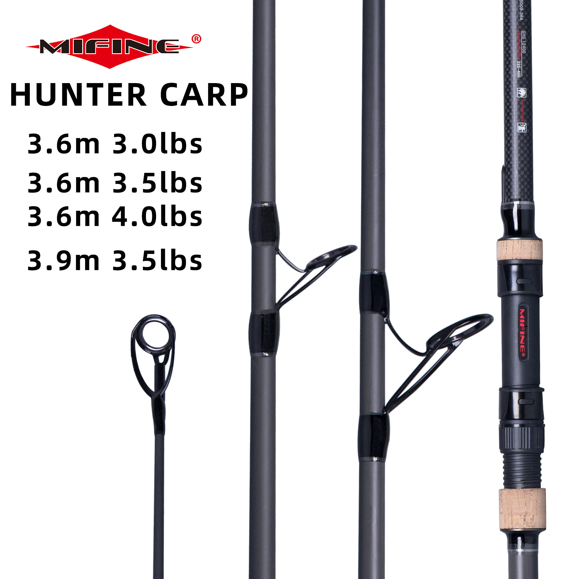 MIFINE CARP Fishing Rod 3.6/3.9m High Carbon Hard Power 3.0/3.5/4.0lbs Surf Spinning Hard Throwing Shot To About 150M