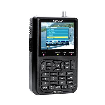 Sygnał cyfrowy miernik satelitarny WS-6906 3 5 #8222 ekran LCD DVB-S umowy o wolnym handlu danych wyszukiwarki satelitarnej dla TV AV tanie i dobre opinie KKMOON Elektryczne 3 0-4 9 Cali Satellite Finder Meter 950MHz-2150MHz -65dBm~-25dBm 13 18V max 400mA 22KHz PAL NTSC SECAM