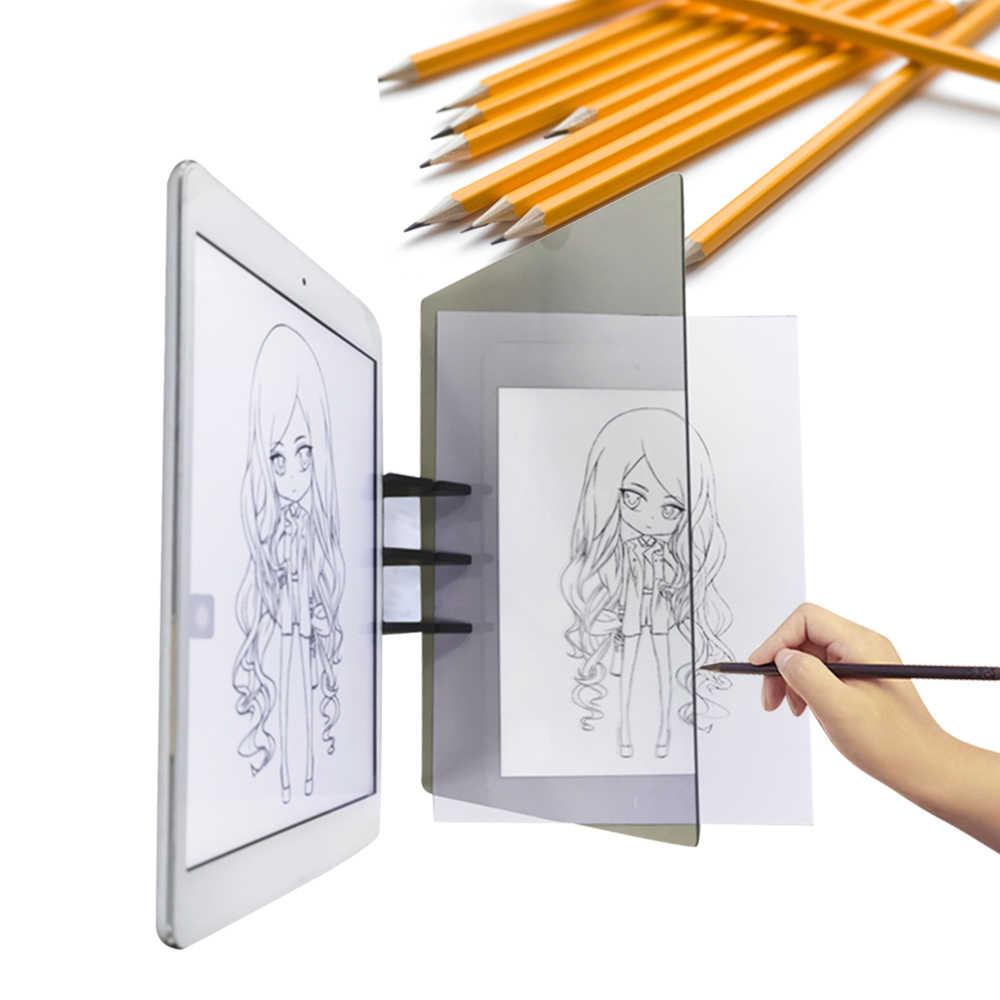 Lukisan Sketsa Asisten Optik Copy Lukisan Alat Menggambar Proyektor Seni Desain Sketsa Asisten Kit