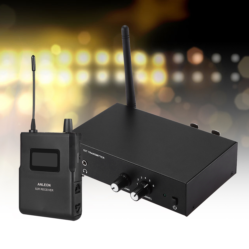 100 240v For Multi Room Venues Audio 670 680mhz Frequency Uhf Wireless Monitor System With In