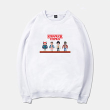 BTFCL Stranger Things Sweatshirt Men/Women Harajuku Fashion Funny Print Movie Hoodie Couples Round Neck Pullover