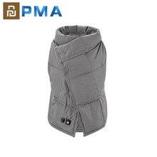 Youpin PMA graphène multifonctionnel couverture chauffante lavable chaud gilet lumière ceinture rapide chaud Anti brûlure pour les femmes pour le bureau,