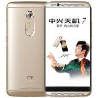 """Stock Original ZTE Axon 7 A2017 4G LTE Smart Phone Android 6.0 5.5"""" 2560X1440 4G RAM 128G ROM 20.0MP Fingerprint NFC 1"""