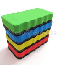 1Pcs Eraser Drywipe Marker Cleaner Magnetic board School Office Whiteboard New Arrival