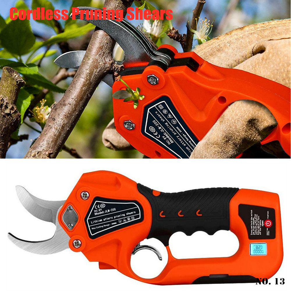 Garden 2 Cutting Cutter Tools 1 Tree 6 Diameter Pruning Battery Pruning Lithium Shears Cordless Electric Inches Protable Tree