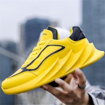 Nowe modne dzikie męskie buty cztery pory roku modne męskie obuwie codzienne zapatos de hombre trampki męskie buty męskie tanie i dobre opinie laikihan Mesh (air mesh) Patchwork Oddychające Wytrzymałe Antyzapachowej Pasuje prawda na wymiar weź swój normalny rozmiar