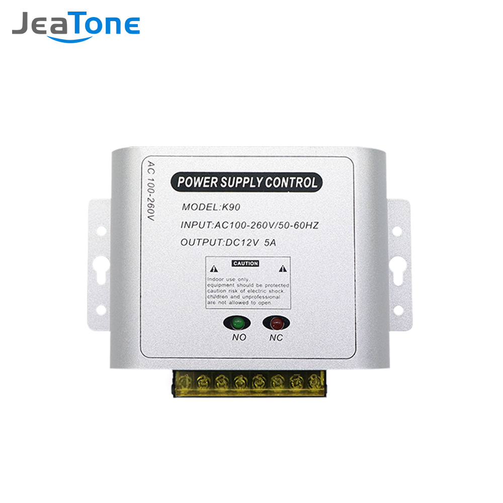Jeatone Access Control Power Supply Transformer Door Supplier Adapter Covertor System Machine for Video Intercom Electronic Lock