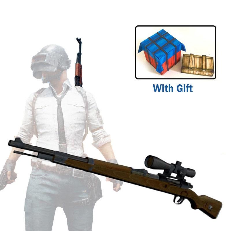1:1 Ratio 98K Sniper Rifle DIY 3D Paper Card Model Building Sets Construction Toys Educational Toys Military Model