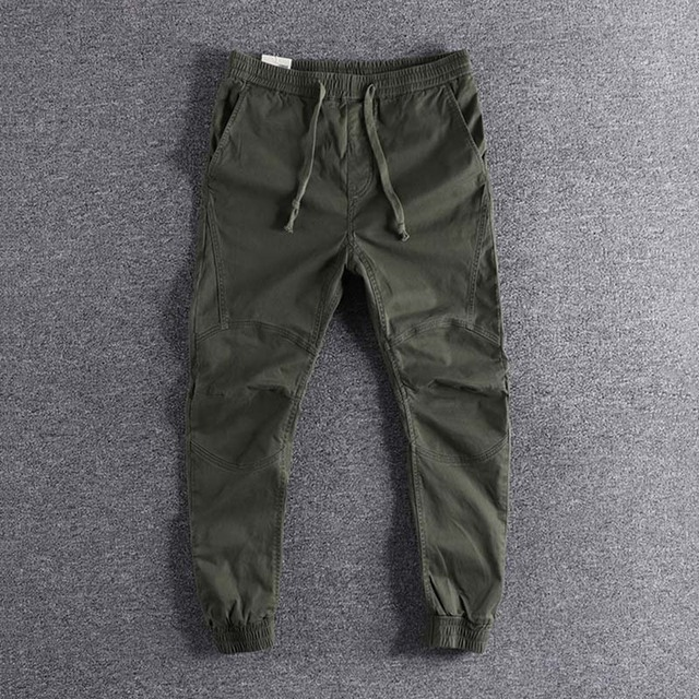 2019 new arrival Three-dimensional self-cultivation  camouflage youth trousers fashion designer plus size cool wear high quality 2