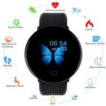 Abay 2019 Men Smartwatch Sport Pedometer Smart Watch Fitness Tracker Heart Rate
