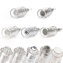 10/50pcs Micro needle Screw Cartridge Replacement For Micro-needling Pen 9 pin / 12 pin / 36 pin / nano / 5D Tattoo Needles set