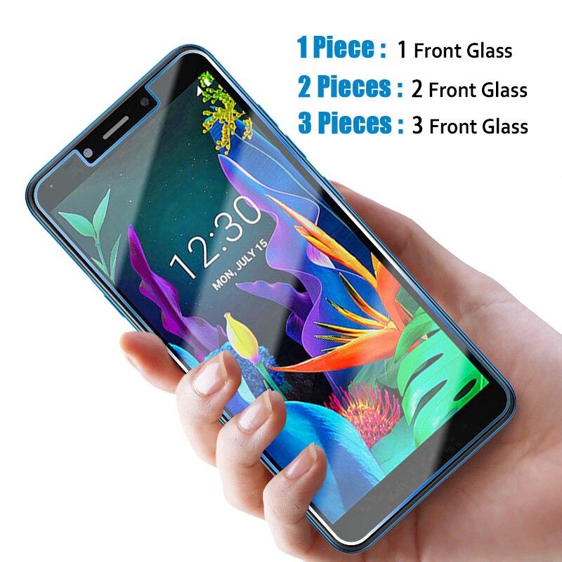 1/2/3 шт HD закаленное стекло для LG K5 K50 K50S K51S K61 9H Защита экрана для LG K20 Plus K30 K40 K40S K41S Передняя пленка