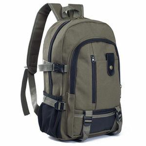 Men Military Canvas Backpack Z