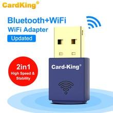 CardKing 150Mbps Mini USB WIFI Adapter 2,4 Ghz Bluetooth Wireless PC Laptop Desktop WiFi Empfänger Wi-Fi USB Ethernet Netzwerk karte