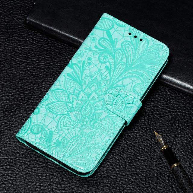 Etui à rabat en cuir Style livre à fleurs pour Huawei Honor 7A 7C 7S 8A 8S 8X 9X 10 10i 9A 9S 9C 20S Mate 20 Pro P30 Lite housse de portefeuille