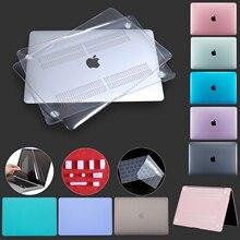 Матовый чехол с кристаллами для MacBook Pro 13 A2289 A2251 2020 Touch ID Cover для Macbook Air 13 Funda A2179 Pro 16 12 15 11 Case